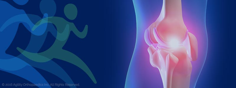 Knee Pain and Injury Illustration - © Agility Orthopedics